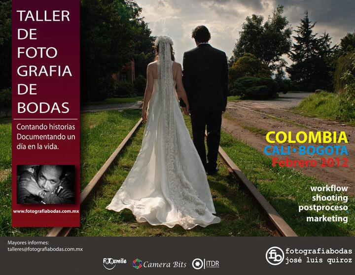 taller fotografa de bodas colombia