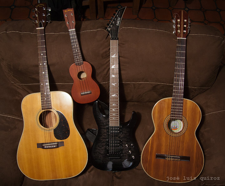 guitarras de jose luis quiroz