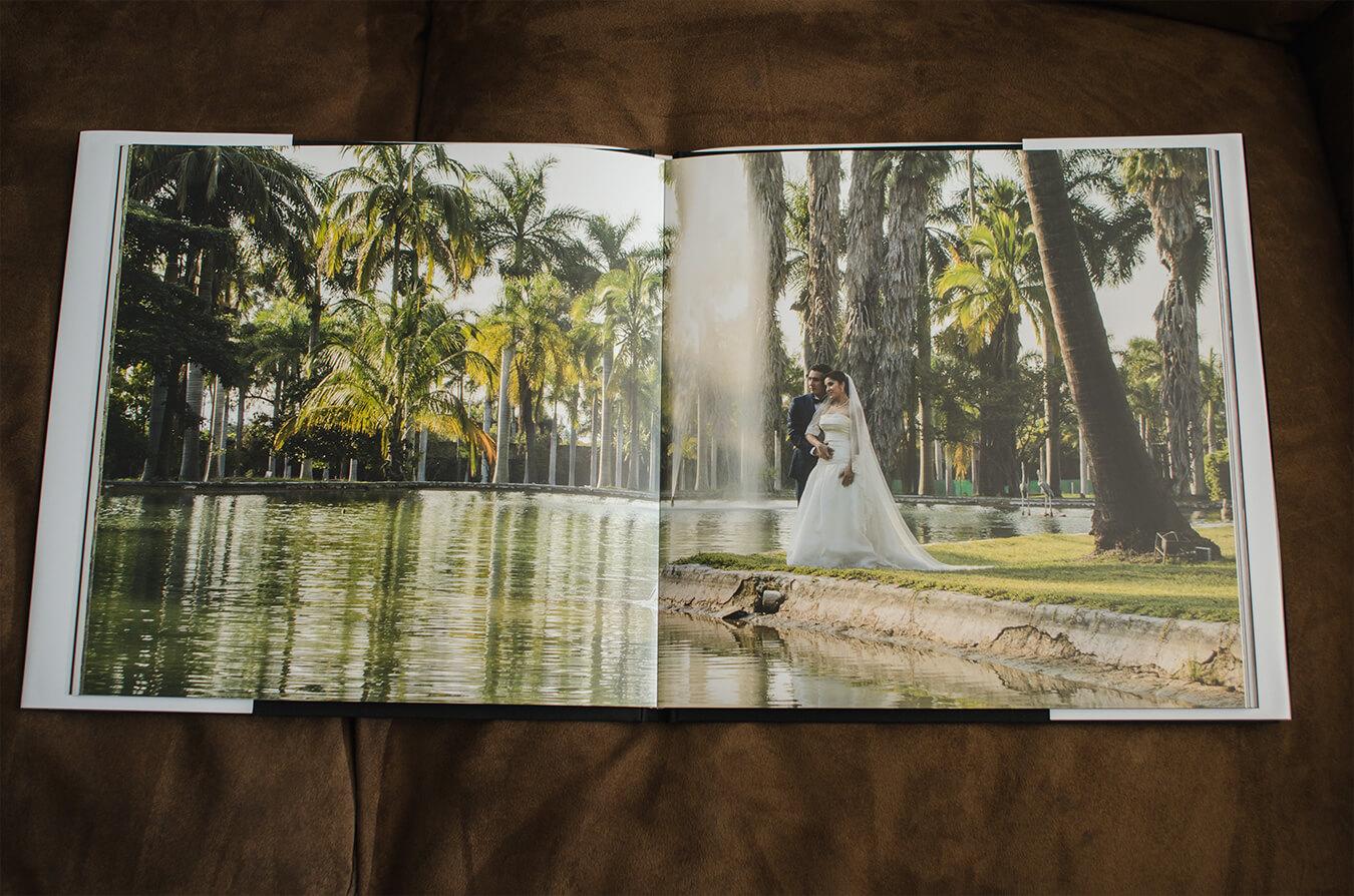 fotos panoramicas en foto libro de bodas