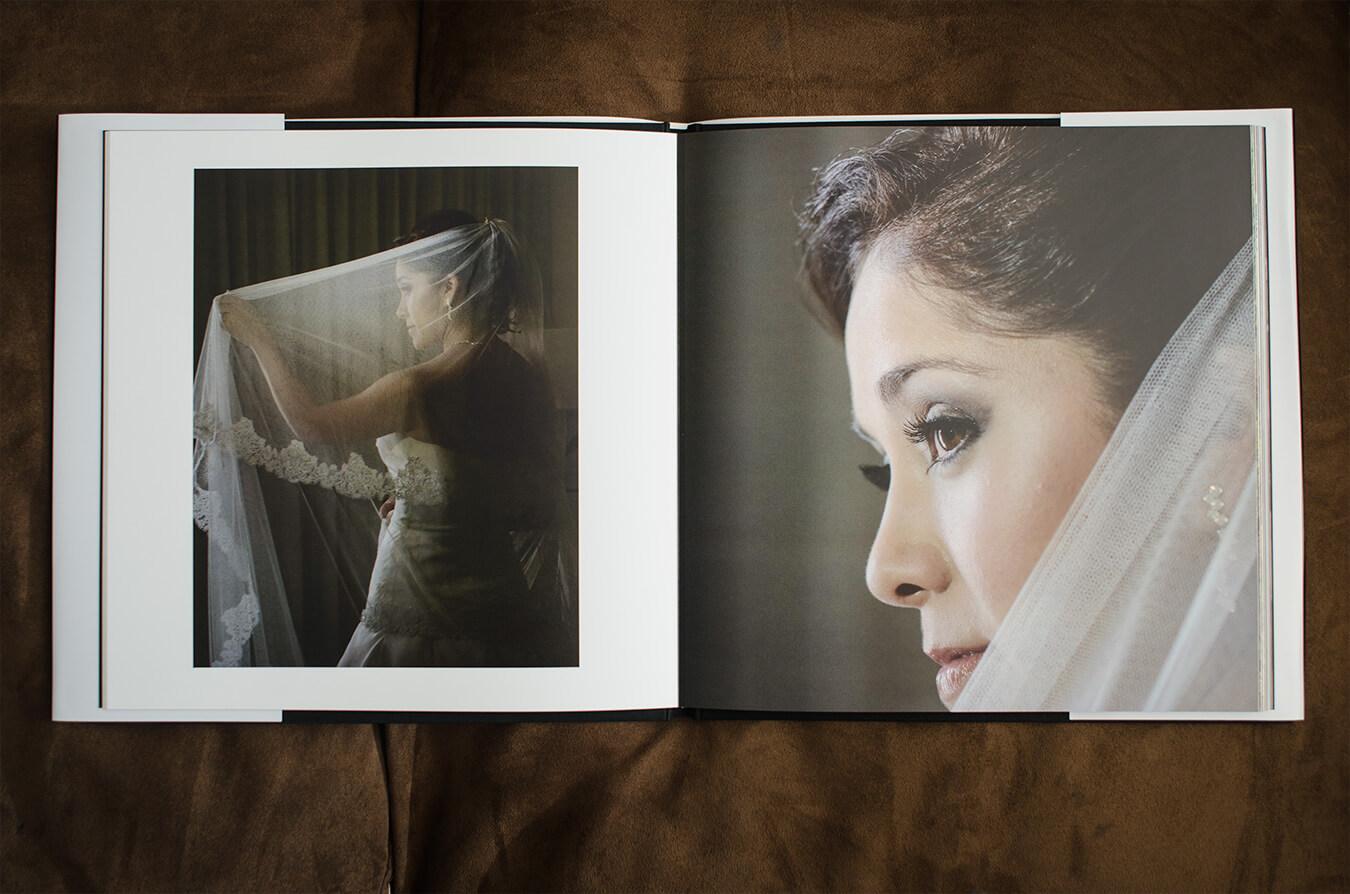 diseño de foto libros de bodas