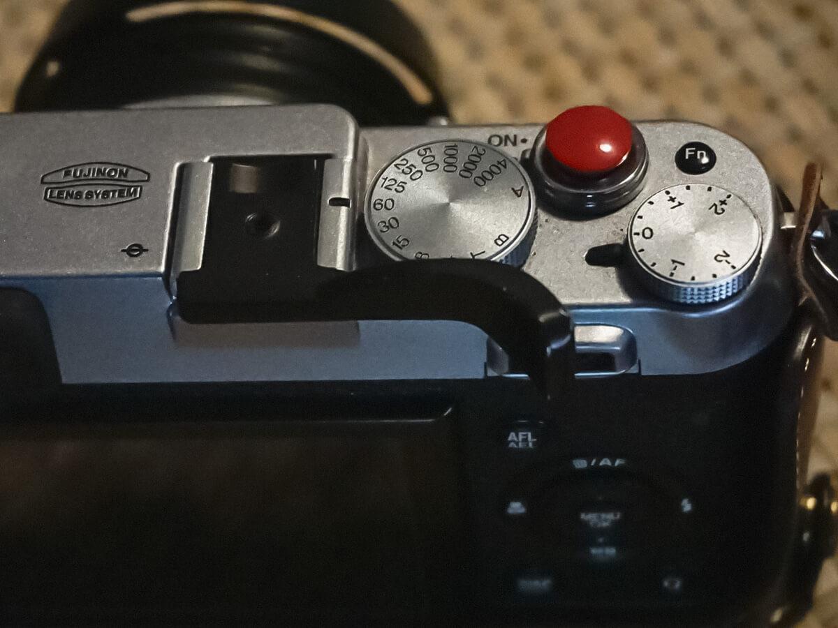 thumb up soporte para camara fujifilm x100 x100s x100t