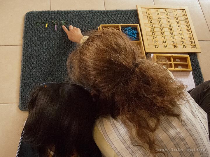 matemáticas con amor educación Montessori