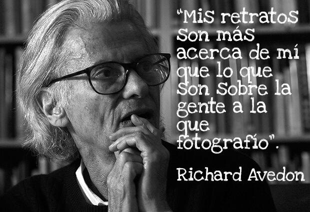 acerca de mis retratos Richard Avedon