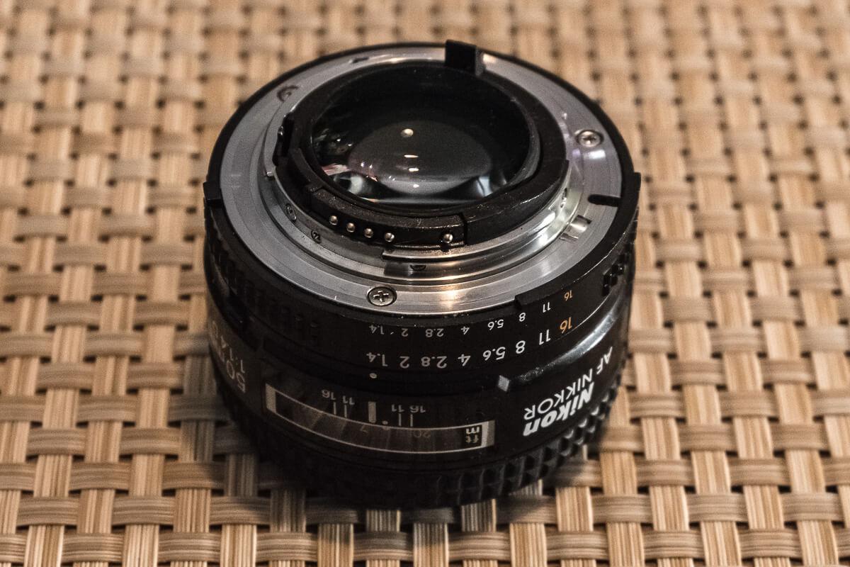 Lente Nikkor 50mm en venta