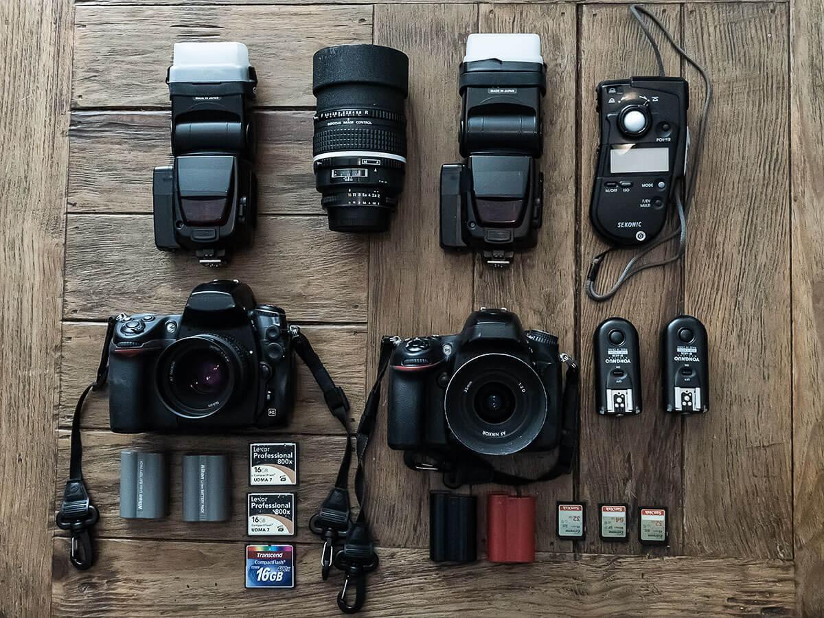 check list equipo fotografico