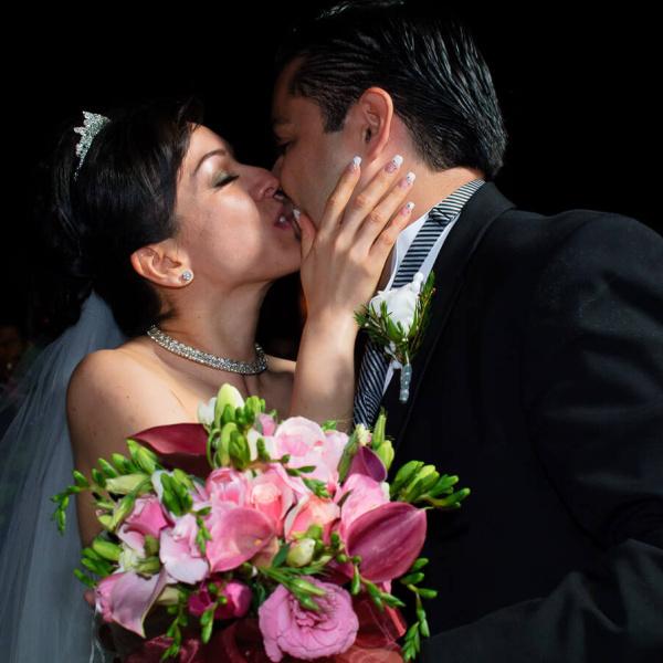 fotografia de boda jardín soleil cuautitlán